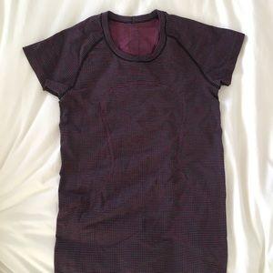 Lululemon multi-colored tee shirt